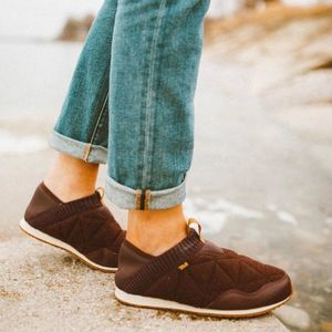 TEVA Ember Moc Wool Quilted Slip On Shoes NEW 7